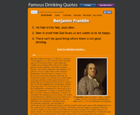Famous Drinking Quotes